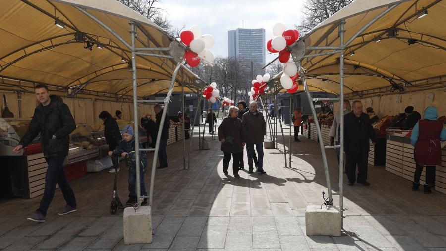 Врачи: уличные ярмарки безопаснее магазинов