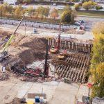 В Западном Дегунине рядом с ТЭЦ-21 начали строить ЖК «Бусиновский Парк»
